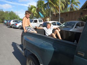 Familie Masuhr reist von Curacao ab