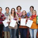 Gruppenbild der zertifizierten SI-Therapeutinnen